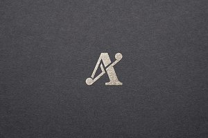 Sophisticated Initial A Logo
