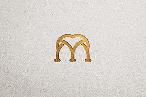 Sophisticated M Logo