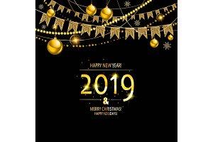 2019 Golden New Year