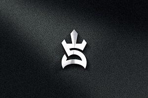 Sprtan Initial S Logo