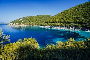 Stunning seaside scenery of the cove