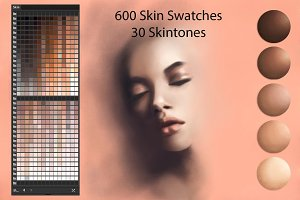 Skin Ai Swatches for DigitalPainting
