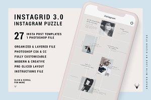 InstaGrid 3.0 - Instagram Puzzle