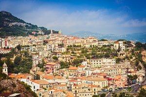 Vietri sul Mare town in Southern Ita