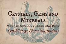 Crystals, Gems and Minerals