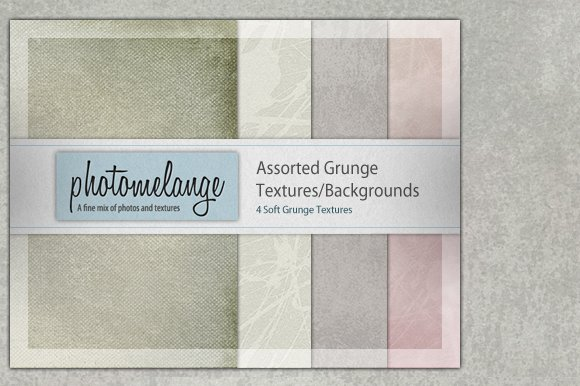 Assorted Soft Grunge Textures