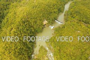 River in rainforest Philippines