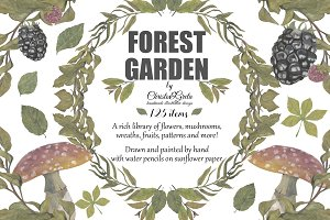 Forest Garden (water pencil)