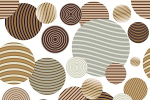 Circle pattern.Modern stylish textur