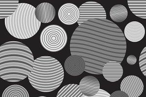 Circle pattern.Modern stylish textur