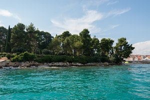 Boat trip near Rovinj