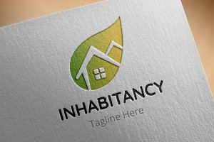 Inhabitency Logo Template