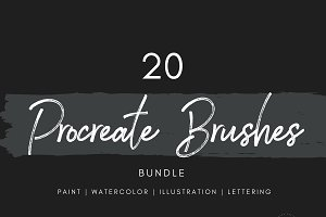 20 Procreate Brushes