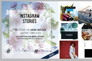Instagram Template Stories — Vol. I