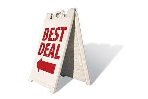 Best Deal Tent Sign