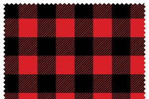 Lumberjack Plaid Texture and Pattern
