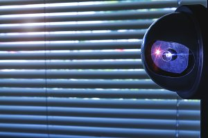 Security Camera inside of the office