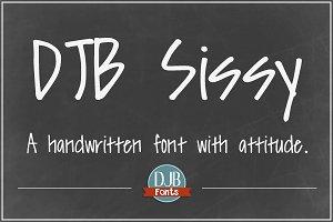 DJB Sissy Font