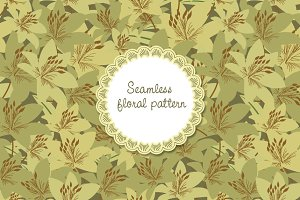 Floral Pattern - Seamless