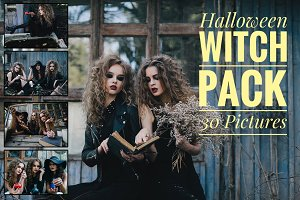 Halloween Witch Pack