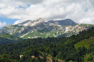 Mount Oshten, Adygea, Russia