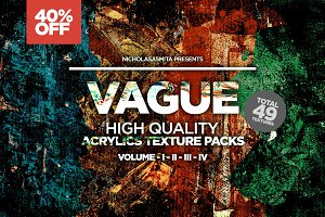 Vague 49 Acrylics Textures Packs