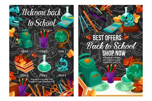Back to School autumn offer