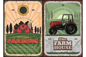 Farming agriculture and farm