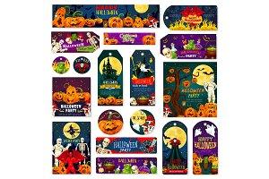 Halloween night trick or treat