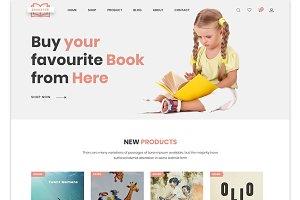 Boighor -Books Library Shopify Theme