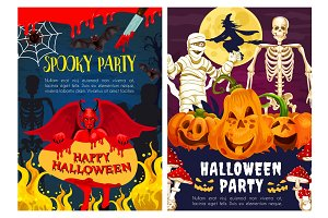 Halloween monster of horror night