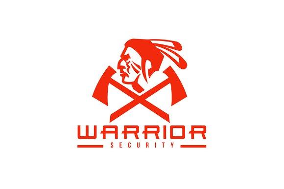 Native American Warrior Security Mas Illustrations Creative Market