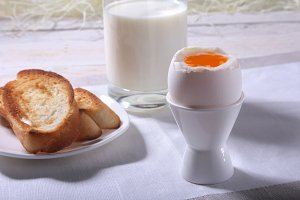 Morning Breakfast set with egg
