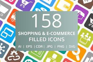 158 Shopping & ECommerce Filled Icon