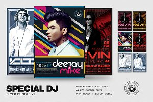 Special DJ Flyer Bundle V2