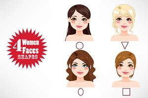 Women Face Shape Types