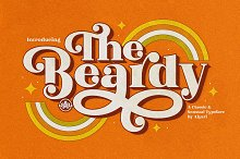The Beardy by  in Display Fonts