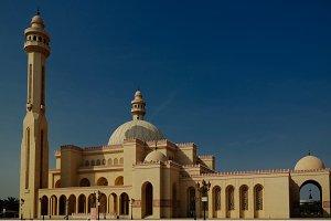 Exterior view to Al Fateh Mosque, Ma