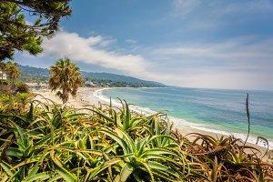 Laguna beach California, view from H