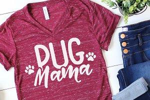 Pug Mama SVG