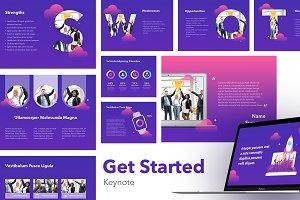 Get Started Keynote Template