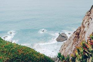 Cabo da Roca, Ocean waves
