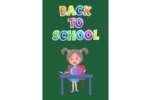 Back to School Postcard or Flyer