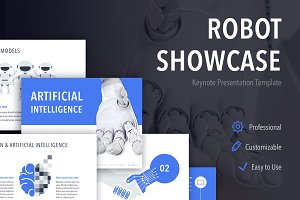 Robot Showcase Keynote Template