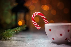 Red-white candy cane