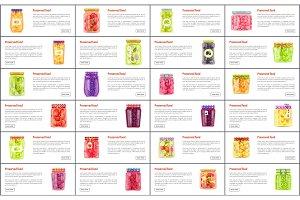 Preserved Food in Jars Web Online