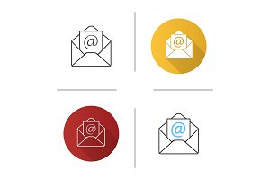 E-mail address icon