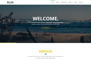 Ellis - Multipurpose Template