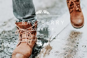 Desktop Lightroom Presets RASPBERRY