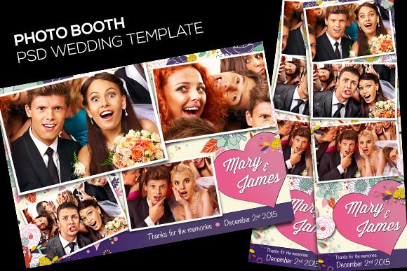 Photo Booth Customizable Template